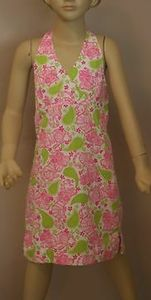 NWOT Lilly Pulitzer halter dress with pink tigers!